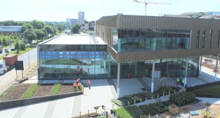 The Birmingham NCHSR building.